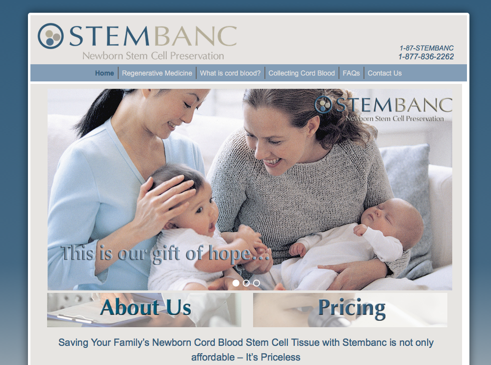 "New Website for ""Stembanc"""