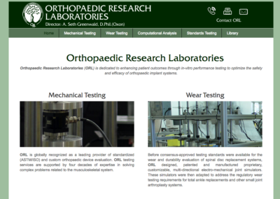Orthopaedic Research Laboratories